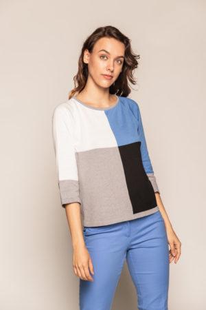 bluzka kolorowa beeanddonkey