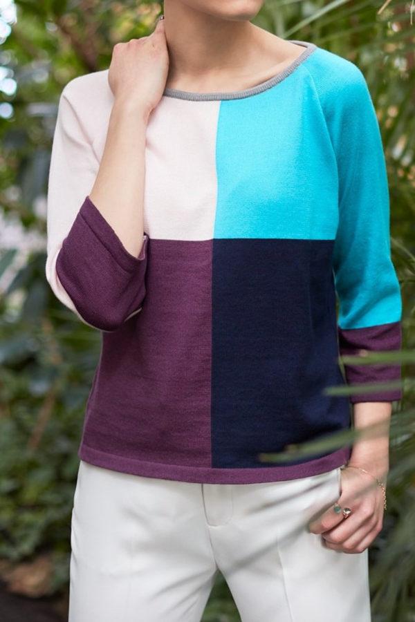 Bluzka 4 kolory bee an donkey kolorowy sweter
