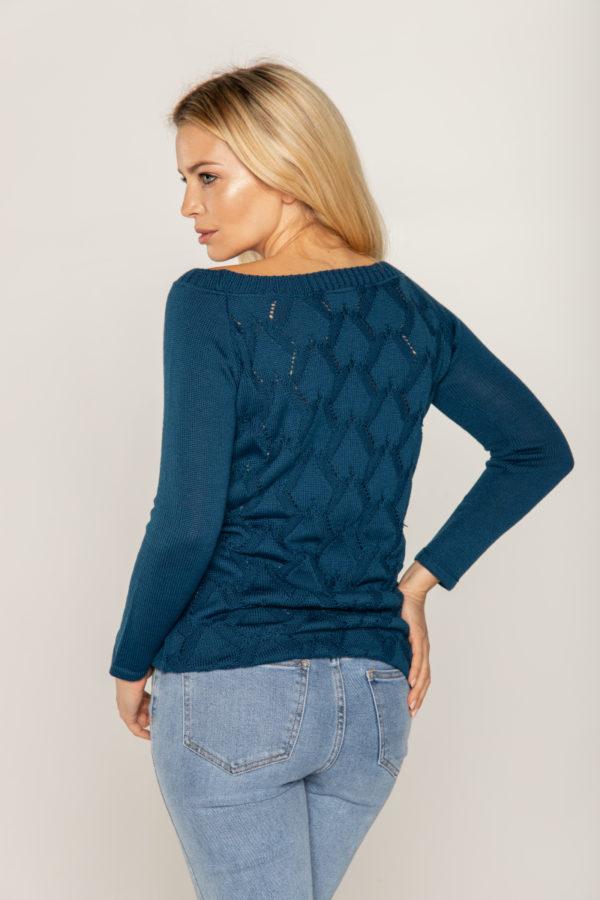 beeanddonkey sweter ze wzorem na plecach