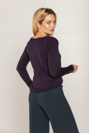 sweter z guzikami przy rekawach beeanddonkey