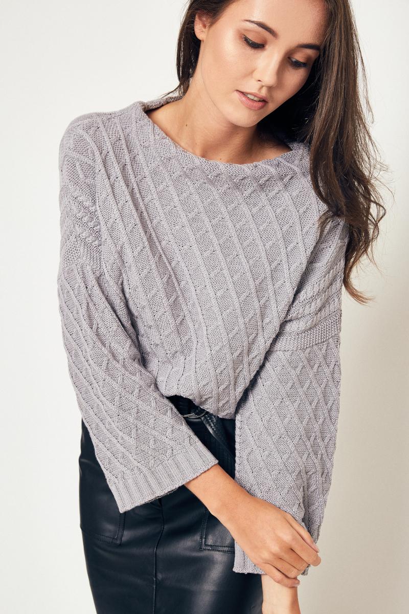 sweter damski półgolf