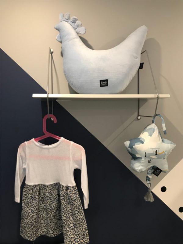 biała sukienka bee and donkey dla dziecka
