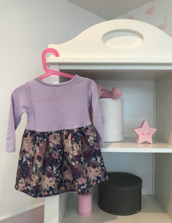 sukienka liliowa beeanddonkey
